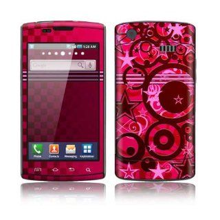 Samsung Captivate Decal Skin Sticker   Circus Stars