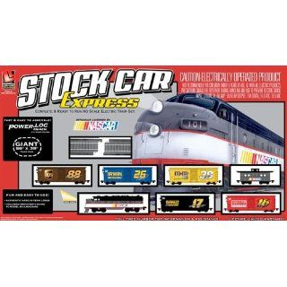 Life Like Trains Stock Car Express NASCAR Electric Train