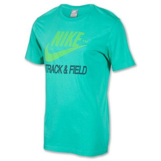 Mens Nike Track & Field Brand Tee Shirt Atomic