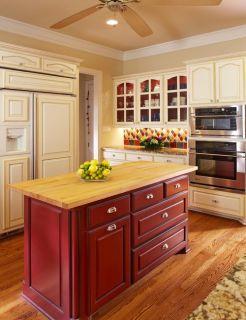 Red 13 Pc Butcher Block Fat Chef Bistro Kitchen Decor Good Food Chef R