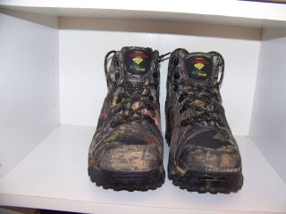 Herman Survivor High Ridge Camo Hiking Boots Sz 9 5