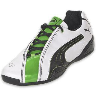 Puma Mens Panigale 50 Mega White/Black/Green