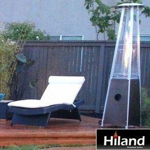 Hiland Premium Series Tall Quartz Patio Heater HLDS01 GTSS AZ Patio
