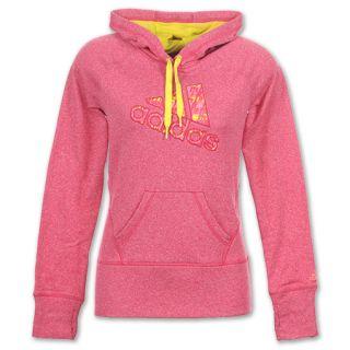 adidas Ultimate Womens Fleece Hoodie Chest Logo