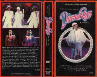 Diana Ross In Concert [VHS] (1979) Diana Ross, Marty