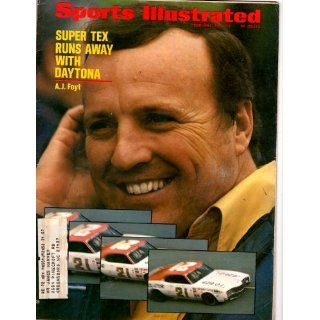 Sports Illustrated February 28, 1972 ~ Super Tex A J FOYT Runs Away