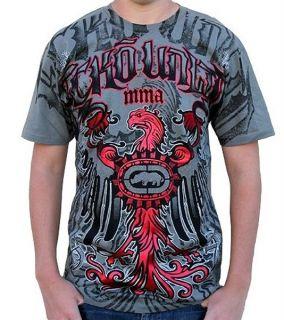 Blazin Griffin T Shirt Pirat Grey Hip Hop Urban Street Wear