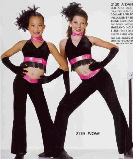 WOW 2119 Jazz Tap Skate Hip Hop Pageant Dance Costume