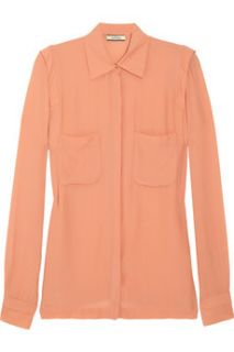 By Malene Birger Aicha crepe blouse   60% Off
