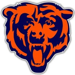 Chicago Bears NFL Football car bumper sticker 5 x 5