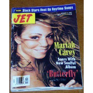 Jet Magazine Oct. 13, 1997 Mariah Carey Various Books