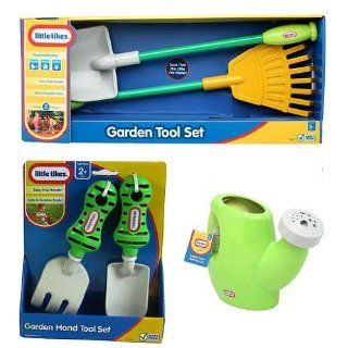 Little Tikes Garden Tool Set with Garden Hand Tool Set and
