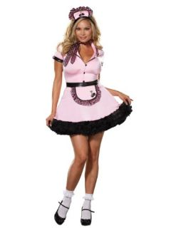 Plus Size Theatre Costumes 50s Costume Waitress Costume