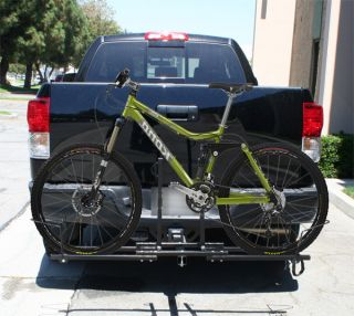 New Heavy Duty Truck SUV RV 2 Hitch Mount 2 Bike Bicycle Carrier Rack