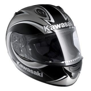 HJC Kawasaki Ninja ZX R Motorcycle Road Helmet Black XL