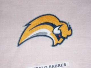 Buffalo Sabres Hockey Fabric Logo Sport Quilt Block