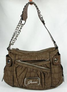 New Guess Jalena Womens Shoulder Hobo Bag Handbag
