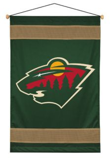 Big Minnesota Wild Boys Hockey Team Wall Hanging Decor