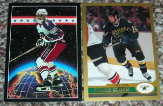 Blake Sloan 2 Card Lot RC Team USA Dallas Stars Hockey