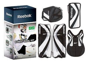 Reebok Street Hockey Junior (28) Goalie Equipment Kit