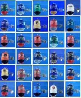 30 NHL Hockey Teams Cap Hat Ceiling Light Lamp Fan Pull Connectors You