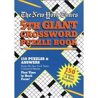 New York Times 5th Giant Crossword Puzzle Book Rh Value Publishing