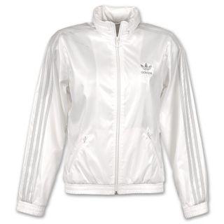 adidas Womens adi Windbreaker Jacket White/Silver