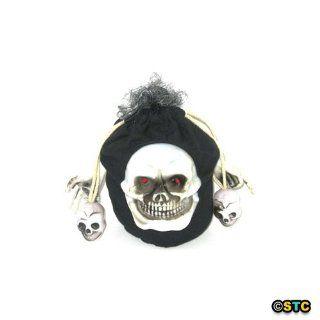 Creepy Skull Bag ~ Halloween Skull Decorations & Props