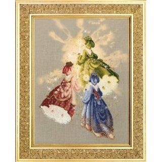 Lavender & Lace   Firefly Fairies   Counted Cross Stitch Pattern (L&L