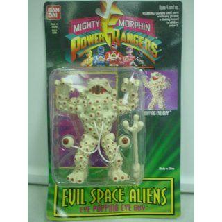 Mighty Morphin Power Rangers Evil Space Aliens EYE POPPING
