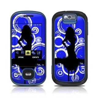 Blue Groupie Design Skin Decal Sticker for the Samsung