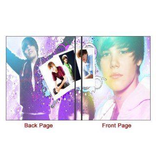 Custom Justin Bieber iPad Folio Case for iPad 3/2/1 Hard