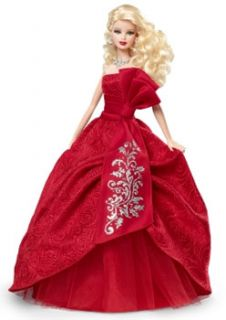 New Barbie Collector Holiday Barbie 2012 Doll Dress Christmas Girl Toy
