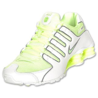 Womens Nike Shox NZ White/Liquid Lime/Cool Grey
