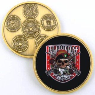 ARMY CIVIL AFFAIRS THE TRIGGER CHALLENGE COIN YP422
