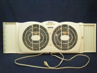 Holmes 2 Speed Electric Window Fan Used VGC