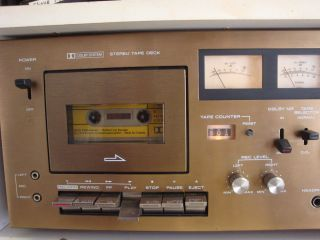 Vintage Panasonic Stereo Receiver RA 6500 with 80 Watts with Cassette