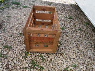 Vintage Jeff Melons Mario Saikhon Holtville California Fruit Wood Box