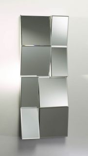 Large Patchwork Modern Wall Mirror Contemporary Home Decor New Design