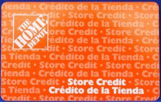 Home Depot Merchandise Credit Gift Card $91 50