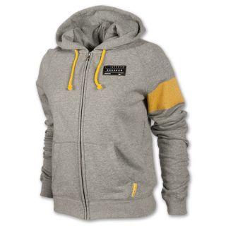 Nike LIVESTRONG Rally Full Zip Womens Hoodie Grey