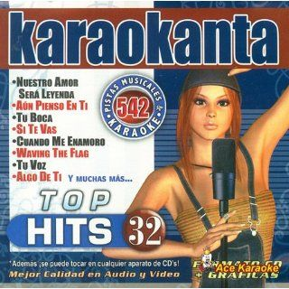 Karaokanta KAR 4542   Top Hits Vol. 32 Spanish CDG Various