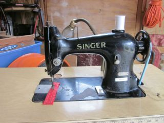 Singer Industrial Straight Stitch Sewing Machine Model 95 10