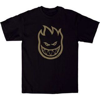 Spitfire Bighead Skateboard T Shirt [Large] Black/Tan