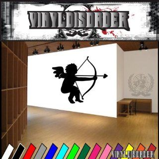 Valentines Day Cupid NS001 Vinyl Decal Wall Art Sticker