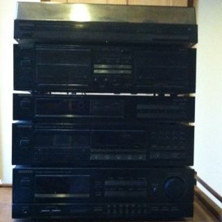 Complete Kenwood Home Stereo System 5 Pieces  AWESOME