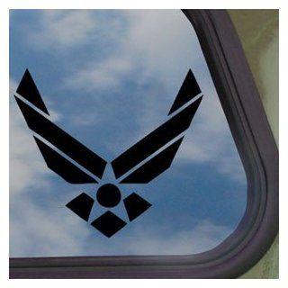 USAF Air Force Emblem Logo Black Decal Window Sticker