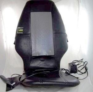 SI Homedics Shiatsu Massage Chair Cushion SBM 200
