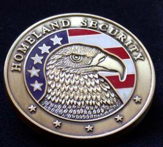 Homeland Security FBI Commemorative Coin w W