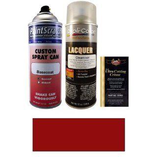 12.5 Oz. Radiant Red Metallic Spray Can Paint Kit for 2007 Kia Optima